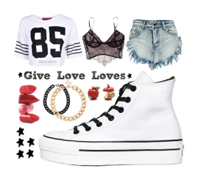 Give Love Love: Converse 50mm