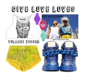 Give Love Loves: Die Antwoord – Visseral Inspiration