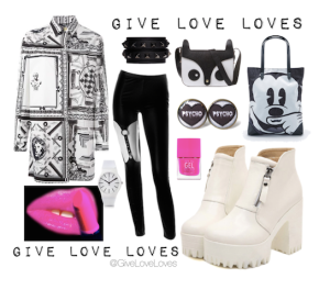 Give Love Loves: Black & White LeLu