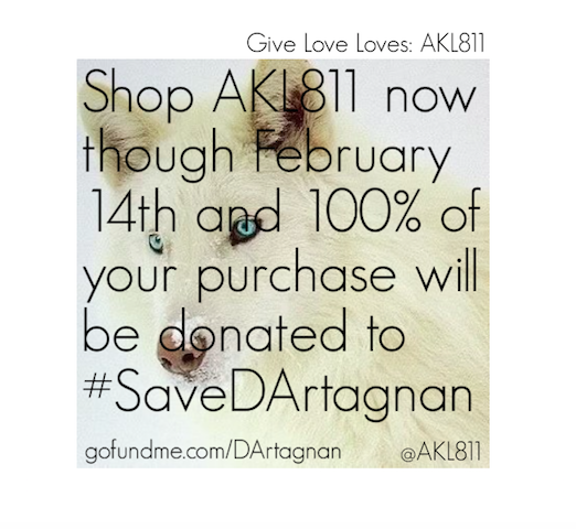 Give Love Loves: #SaveDArtagnan