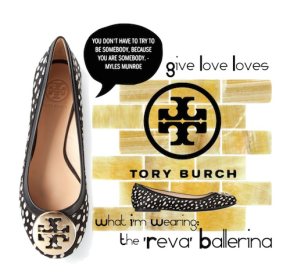 Give Love Loves: Tory Burch 'Reva' Ballerina
