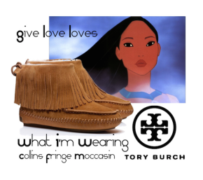 Give Love Loves: Tory Burch Collins Fringe Moccasin